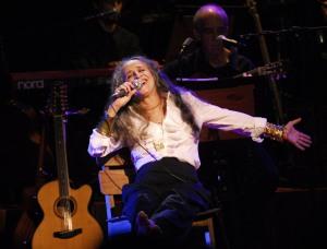 Show de Maria Bethânia no Caneção.Foto de Álvaro Riveros
