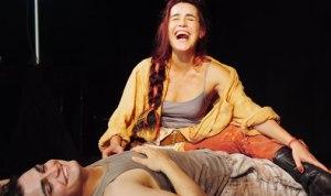 Lucélia Santos e Maurício Machado em peça de Alcides Nogueira