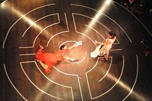 Isabel Teixeira e Georgette Fadel em RAINHA[