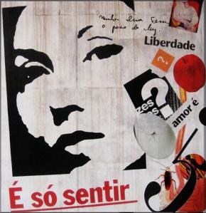 Homenagem de Luis Fabiano Teixeira a Clarice Lispector