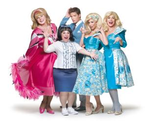Elenco principal do musical HAIRSPRAY, dirigido por Miguel Fallabela